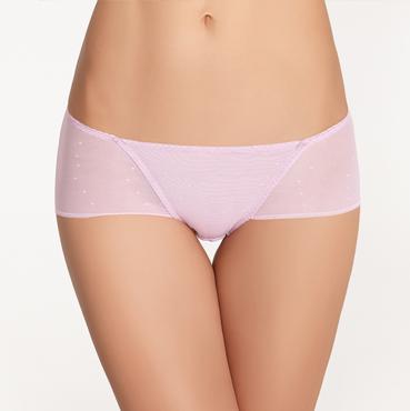 中低腰平角四角女士内裤无痕轻薄蕾丝透明